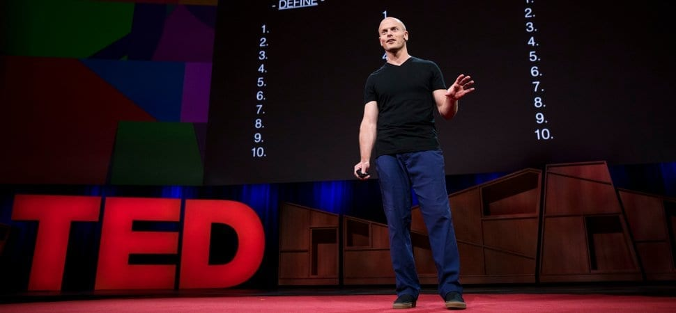Tim Ferriss -- TED Talk -- Stoicism -- Fear Setting